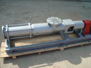 Pompa di grande viscosità di trasferimento dei residui della vite di serie di G mono