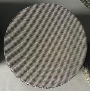Vaglio filtrante di plastica del micron SS304 SS316 di uso 220 dell'espulsore