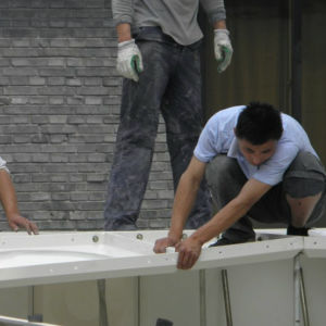 Banheira de venda do tanque de Tratamento de Água de PRFV GRP