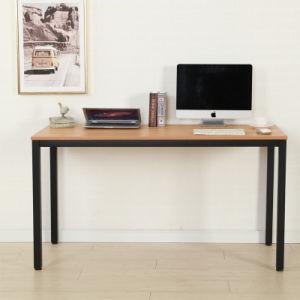 シンプルな設計の卸売のWood&Metalのオフィス用家具のコンピュータの机のコンピュータ表ワークステーション
