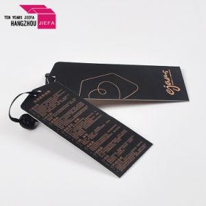 Fancy Tags Carton imprimés personnalisés/Hang Tag avec oeillet de papier