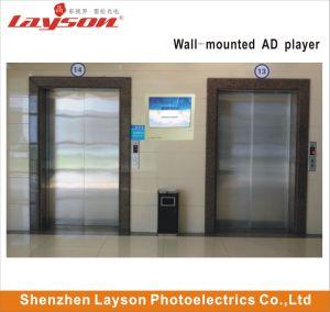 43-pouces écran TFT LCD Publicité multimédia lecteur réseau WiFi HD Digital Signage passager l'écran de l'élévateur
