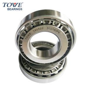 Bajo ruido de súper precisión 30206 Rodamientos de rodillos cónicos de metalurgia