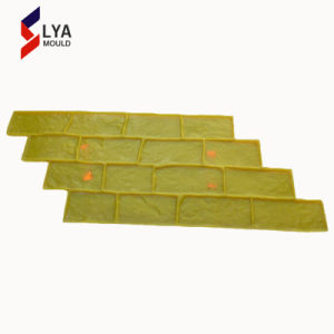 模造されたスレートのケイ素の石塀のスタンプのマットは具体的な型を押した