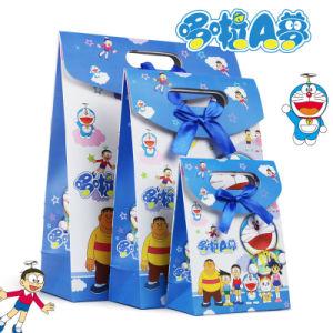 الصين [أم] حاضر هبة حقيبة إلى حدّ ما يعبّئ صندوق مع سحريّة لاصق ورقة رسم متحرّك [بوونوت] حزب عيد ميلاد حقيبة