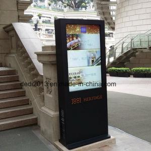 Kiosque extérieur IP65 55pouces LCD avec lecteur de publicité à l'AC