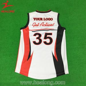 Rugby durevole Jersey della camicia di rugby di sublimazione di Healong Afl forte