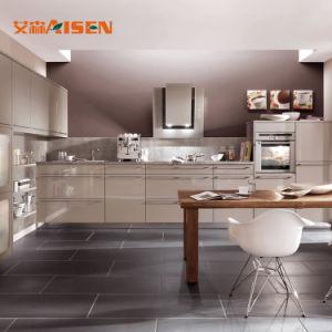 Armadio da cucina moderno facile della lacca di disegno semplice dell'installazione nuovo