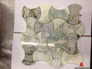 Groen/Marmeren Mozaïeken White/Grey/Black voor de Binnenlandse Decoratie van de Muur