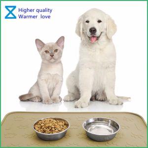 2018 de Fabriek die van China het Voeden van het Huisdier van het Silicone van 100% Matten de Van uitstekende kwaliteit voor de Katten van de Hond met Milieuvriendelijke Materialen produceren