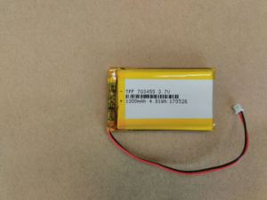 PDA를 위한 Li 중합체 건전지 656066 3.7V 3100mAh