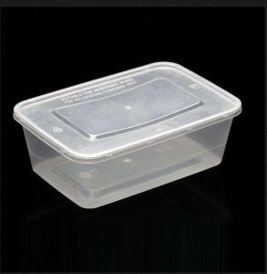 واضحة/[فوود كنتينر] مستطيلة بلاستيكيّة مع غطاء, طعام تخزين [كنتينرجإكسك650]