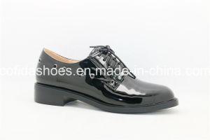 Europea de Bajo confort Heel Lace de ocio zapatos de mujer