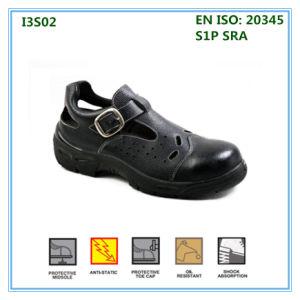 Parte superior de cuero suave verano sandalias zapatos de trabajo