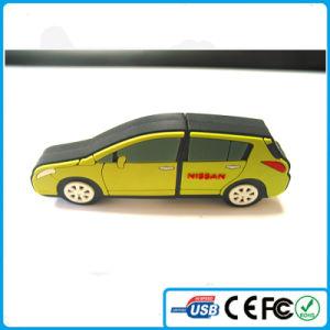 2016のカスタムPVC車の形USB熱い中国の製品は卸し売りする
