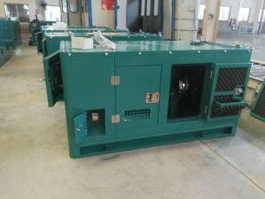 500kw 방음 디젤 엔진 발전기