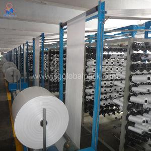 Kundenspezifisches Weiß-Jungfrau-pp. gesponnenes Gewebe 100% in Rolls