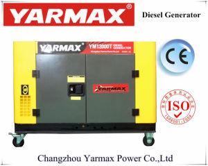 Fornitore di Yarmax! Vendita calda! Generatore diesel 5.8kVA Ym9500e di vendita di inizio elettrico superiore del blocco per grafici aperto