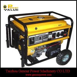 5KW de la llave de 6kw de alambre de cobre 100% de la GX390 motor generador de gasolina