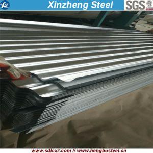 (0.125-0.5mm) Matériaux de construction Produits d'acier tôle de toit de tôle en acier ondulé