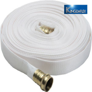 Revestimiento de PVC de 2,5 pulgadas para la entrega el agua de manguera de incendios