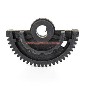 Delrin 플라스틱 큰 톱니 바퀴 기어/기어 투관을 도는 CNC 기계