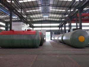 Массовое производство двойные стенки бака Undefground