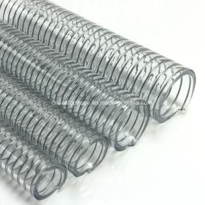 Tubo flessibile di rinforzo flessibile del filo di acciaio del PVC del commestibile