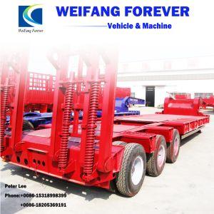 50t -半60t低いベッドのトラックのトレーラーのための工場価格