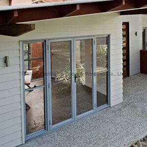 Portello di alluminio personalizzato con doppio vetro Tempered (FT-D70)