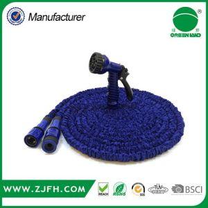 Conector rápido de plástico fuerte azul Joyería magia ampliable de manguera de jardín