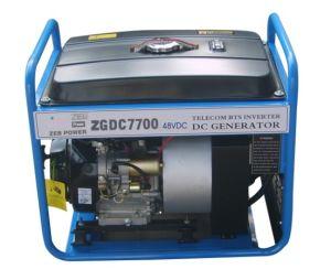 5.5kw Open Type gelijkstroom Gasoline Generators (ZGDC7700)