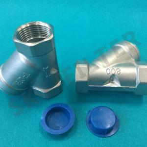 Filtro de aço inoxidável da peneira Y de fundição (DN65 DN80 DN100)