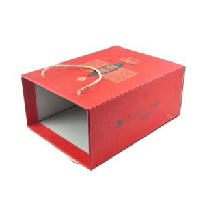 Chinoiserie Caja de Té té Caja de regalo papel de embalaje