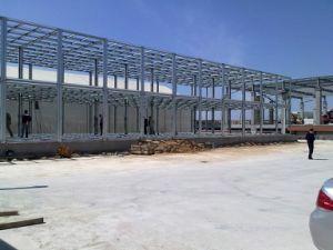 Personalización de la estructura de acero de resistencia a la corrosión taller