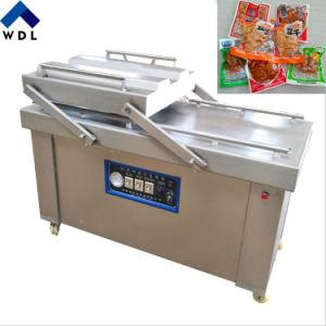 二重区域の自動果物と野菜の真空のパッキング機械