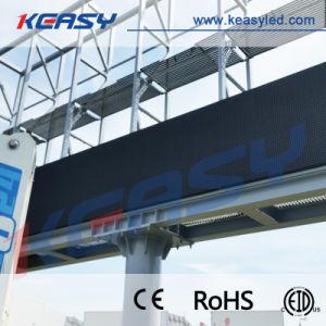 P8 P10 P16 P20 Installation fixe d'affiches de panneaux de publicité de plein air affichage LED
