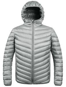 Les hommes de l'hiver le phoque à capuchon Packable Down Jacket
