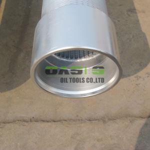 Arrollamiento de hilo y alambre de cuña de tubo de malla del filtro de pantalla