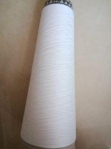 Poliéster reciclado de hilados de algodón peinado Blenched