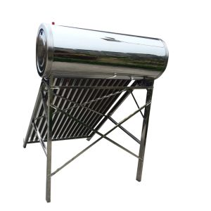 aço inoxidável integrado da energia solar Non-Pressure compacto aquecedor solar de água
