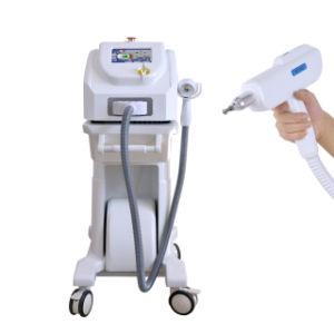 Extracción la extracción de pigmento de tatuaje y Q-Switched Nd YAG Picosecond