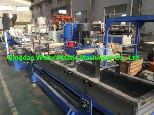 Shj-75 de plastic Korrels die van de Bundel van de Waterkoeling Machines maken