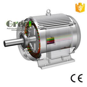 130kw un CA di 3 fasi a bassa velocità/generatore a magnete permanente sincrono di RPM, vento/acqua/idro potere