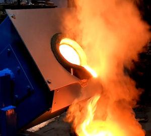 Het Smelten van de Inductie van het Koper van de Frequentie van de lage Prijs IGBT de Middelgrote Vervaardiging van de Oven