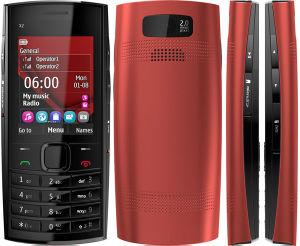 100% Original para Nokia X2-02 desbloqueado teléfono GSM