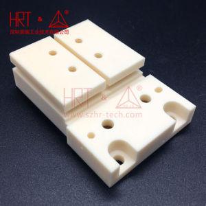 La estructura de cerámica alúmina cerámica alúmina de piezas de cerámica de alúmina de orificio del tornillo de procesamiento personalizado