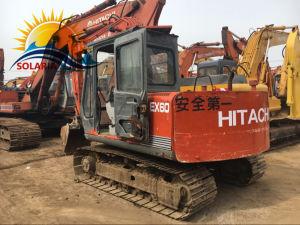 Promozione originale scavatrice della Hitachi di seconda mano/usato Ex60 del cingolo dell'escavatore della Hitachi (EX120 EX200) dell'escavatore di costruzione del macchinario del Giappone di vendite