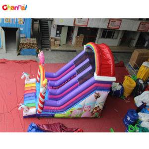 2019 Nouvelle conception du logiciel UNICORN Diapositive gonflables pour enfants