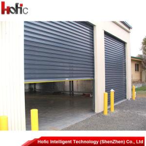 Rouleau d'aluminium porte d'obturation /rolling shutter automatique de porte/rouleau de porte électrique jusqu'